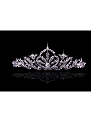 Pretty Alloy With Czech Rhinestones Wedding Party Headpiece
