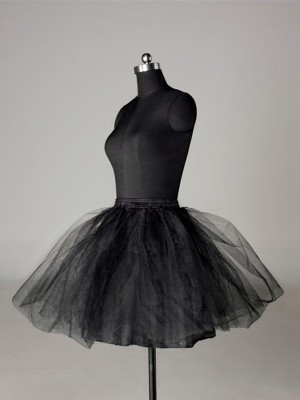Tulle Netting Ball-Gown 2 Tier Short Length Special Occasion Petticoat